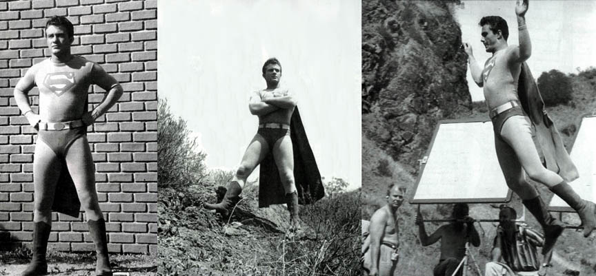 Image result for images of 1961 television series the adventures of superboy